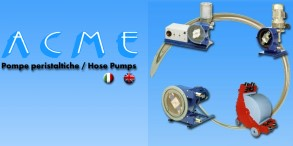 dosing pump, pump for abrasives, for corrosive, alimentary, paste industries and dosing pump.